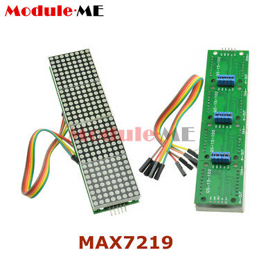 MAX7219 Microcontroller 4 In 1 Display With 5P Line Dot Matrix Module Arduino MO