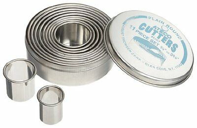 Ateco Round Pastry Cutter Set - Stainless Steel