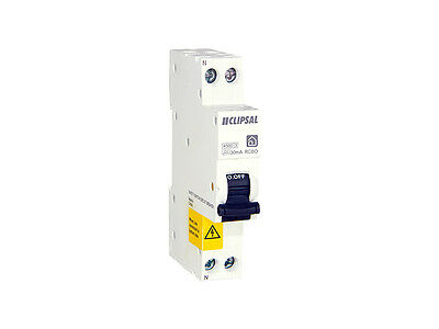 Clipsal 6A RCBO RCD MCB Safety Switch Circuit Breaker Double Pole RCBE206/30S