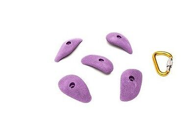 ETCH Finger Buckets Set B Climbing Hold, Purple