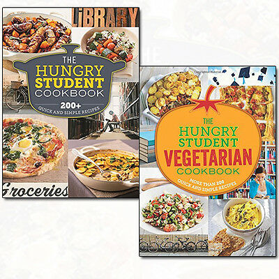 Spruce The Hungry Cookbooks Quick and Simple Recipes Collection 2 Books Set NEW