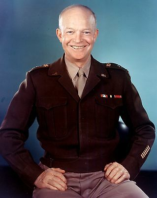 General Of The Army Dwight D. Eisenhower - 8X10 Photo (Dd-190)