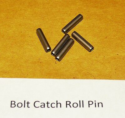 6 Spiral Coiled Mil Spec Bolt Release Premium Hardened Ss Roll Pins, Usa