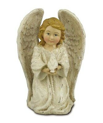 """Angel with Dove"" Figure by Bethany Lowe Designs"