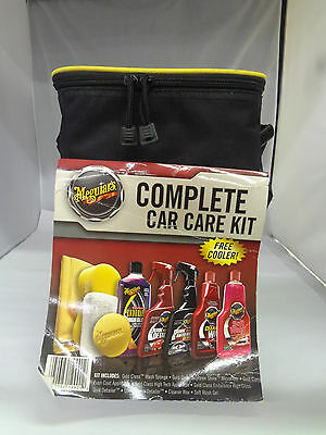 Meguiar's Complete Car Care Kit With Cooler    J-162