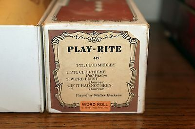 Playrite XP LARGE size Roll# 449 PTL CLUB MEDLEY Tammy Fay Baker