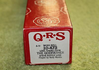 Qrs Word Roll# 10-473 Love Theme From The Godfather