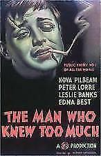 The Man Who Knew Too Much New And Sealed DVD Alfred Hitchcocks   E5