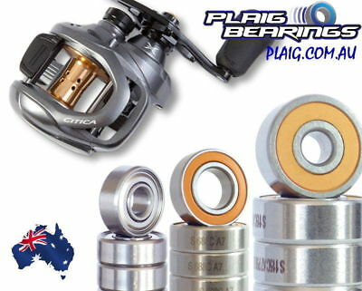 Shimano Citica Bearing Kits Baitcaster Stainless Steel and Ceramic Hybrid Si3N4