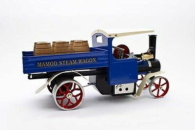 Mamod Steam Wagon SW1 Blue with Barrels - NEW AUS Stock
