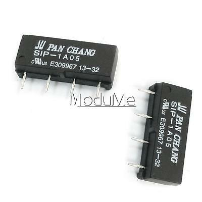 10PCS 5V Relay SIP-1A05 Reed Switch Relay for PAN CHANG Relay 4PIN New MO