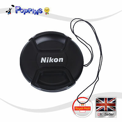 New LC77  Snap-On Lens Cap LC-77 LC77  77 mm For Nikon LC-77 LC77 UK Stock