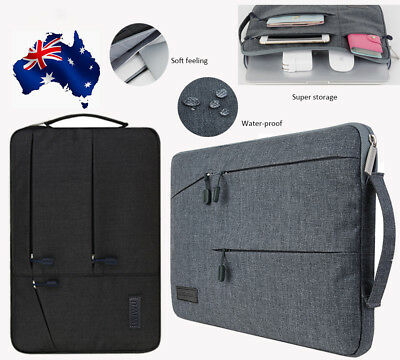 "Gearmax Zipper Laptop Carry Sleeve Bag For Macbook Pro 11"" 13.3"" 15.6"" HP Dell"