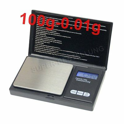 Mini Small Pocket Digital Gold Weighing Pans Scales 0.01~100g