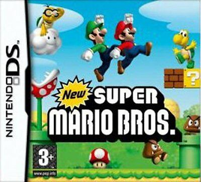 New Super Mario Bros game Nintendo DS DSI DSL DSI 3DS XL Brand New Sealed games