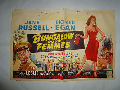 JANE RUSSELL/THE REVOLT OF MAMIE STOVER /S17S/  belgian poster