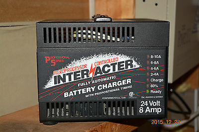 Interacter PS24/8NT Fully Automatic Batttery Charger