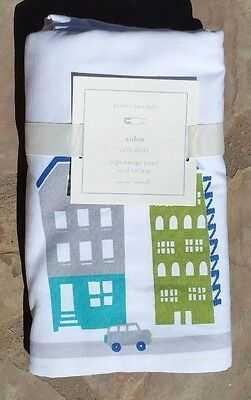 Pottery Barn Kids ~ Aiden Crib Skirt ~ Sold Out Everywhere