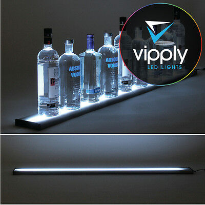 "Bar Shelf with LED Lighting - 4 Foot (48"") Length"