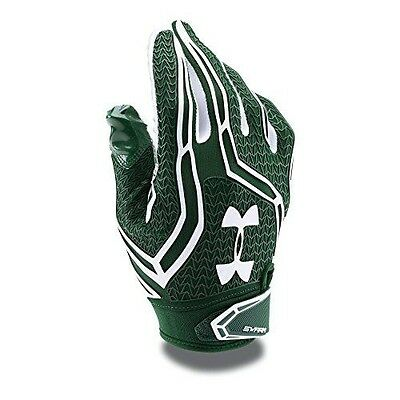 Under Armour Men's Swarm II Football Gloves, Forest Green (301), Large