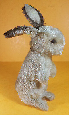 VINTAGE STEIFF SOFT TOY - SONNY THE BUNNY RABBIT FROM THE 1950s -  17cm + EARS!