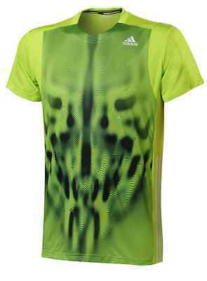 adidas Adizero Mens T-Shirt - Yellow - RRP: £35