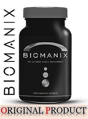 Biomanix The Ultimate In Male Performance EnhancementSupplements 60ae Exp03/2019