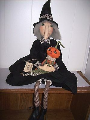 """Marleigh"" Witch - Soft Figure designed by Joe Spencer for Gallerie II"
