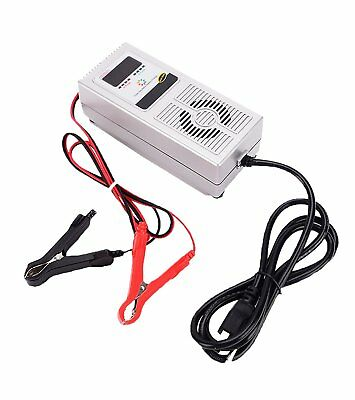 12V 8A Smart Battery Charger Desulfator Negative Pulse Deep Cycle Vehicle