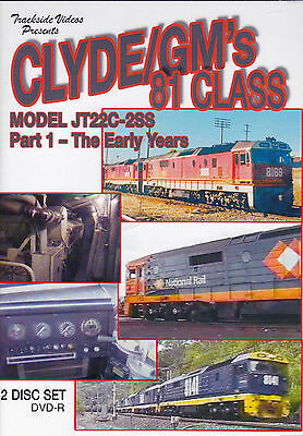CLYDE/GMs 81 CLASS THE EARLY YEARS 2 DISC SET