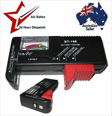 Battery Condition Tester. Tests Most Small Batteries AA AAA C D 9 Volt 1.5V 9V
