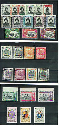 Brunei - Selection Of Fine/very Fine Mint Stamps