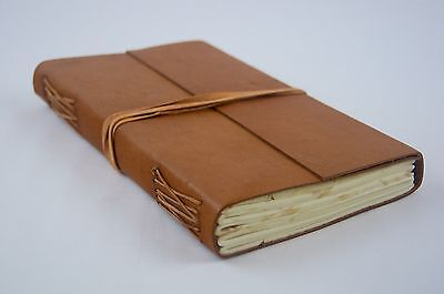New Handmade Raw Leather Journal, Notebook Travel Journal Perfect  Gift