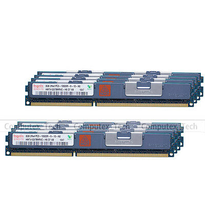 Hynix 64GB 8x8GB 2RX4 PC3-10600R DDR3 1333MHz ECC Registered Server Memory 1.5V