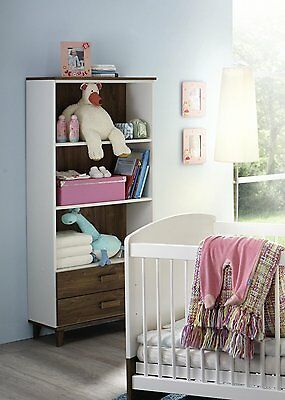 regal wandregal babyzimmer babyzimmer kinderzimmer weiss eiche stirling neu eur 149 00. Black Bedroom Furniture Sets. Home Design Ideas