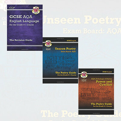 New GCSE English Literature AQA for Grade 9-1 Course 3 Books Collection Set NEW