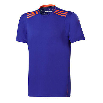 adidas Climachill Mens T-Shirt - Night Flash - RRP: £30