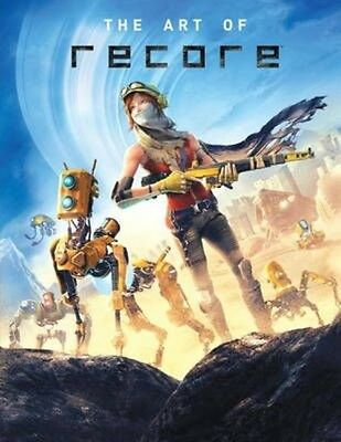 The Art of Recore by Microsoft Studios Hardcover Book