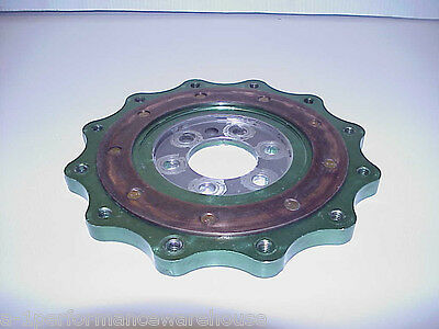 "Backing Plate for 7-1/4"" Clutch Chevy 1 Piece Seal by NEW AGE Motion IMCA UMP"