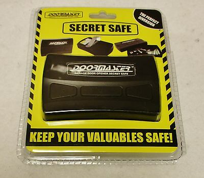 *DOORMASTER* Garage Door Opener Secret Stash Diversion Safe For Valuables