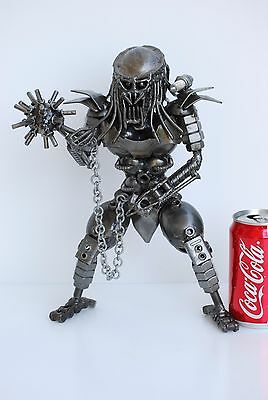 Predator  Scrap Metal Sculpture Art Handmade Gift