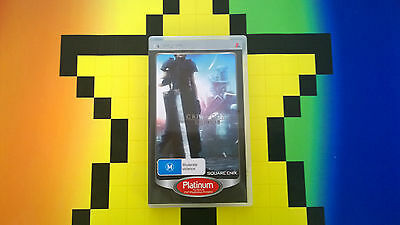 Sony Playstion Psp Final Fantasy Crises Core Videogame Video Game Free Postage