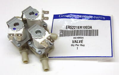 Water Inlet Valve for LG Kenmore Sears Washer 5221ER1003A (5220FR2075L)