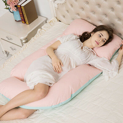 Multifunction Maternity Pregnancy Sleeping Support Pillow Comfort Soft U Shaped