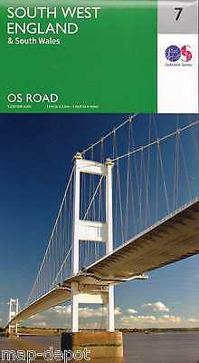 South West England Road Map - New 2016 - Ordnance Survey - 7