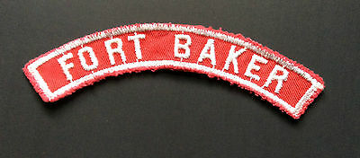 Fort Baker - (Army) Military Base Red & White