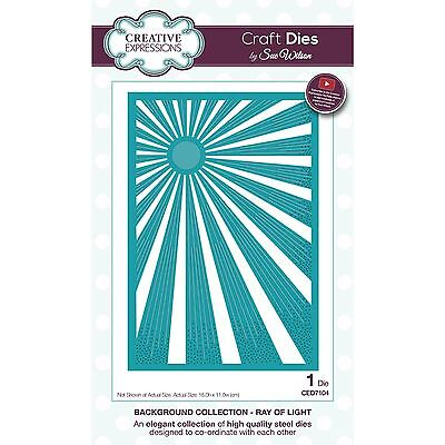Sue Wilson Background Collection Ray Of Light Die By Creative Expressions