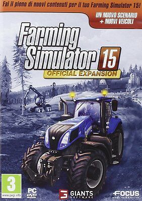 Farming Simulator 15 Expansion Pack PC NUOVO NEW ITA