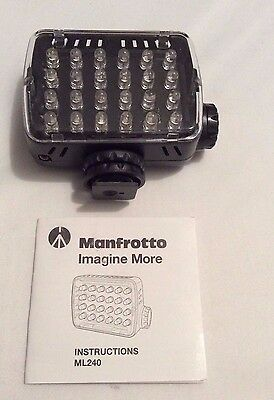 Used Manfrotto ML240 MINI-24 LED Panel (Free Shipping)