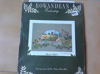 "EMBROIDERY KIT  ""POPPYLAND(SUFFOLK)"" by ROWANDEAN"